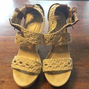 """6"""" DEB wedge heels"""